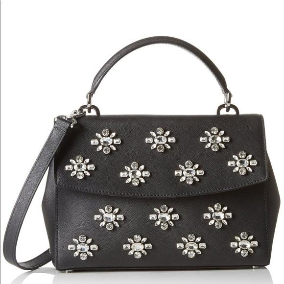 87187d896c89 MICHAEL Michael Kors Bags | Michael Kors Ava Jewel Small Leather ...